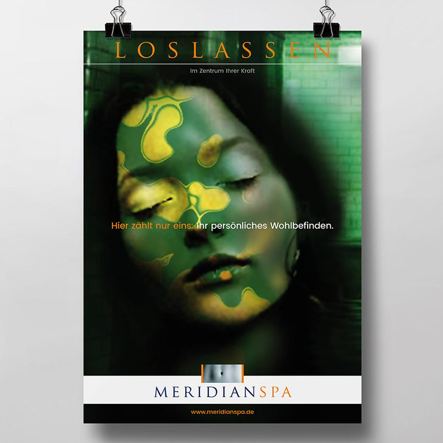 Image Konzeptkampagne für das Fitness-Center MeridianSpa