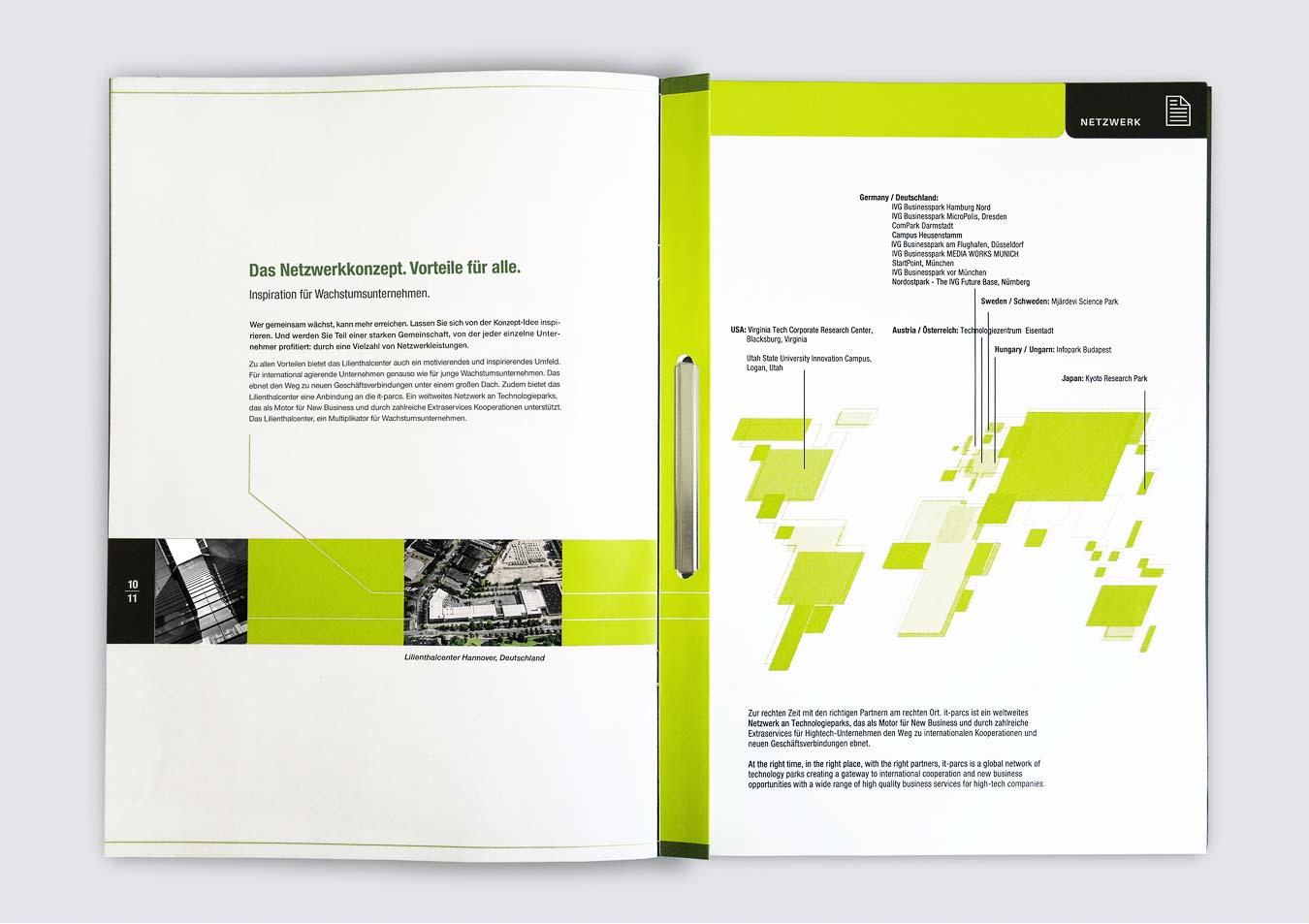Imagebroschüre und Verkaufsmappe in besonderer Form