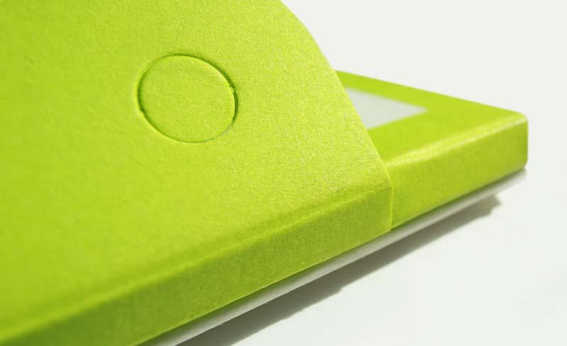 Zum Printdesign gehören besondere Materialien