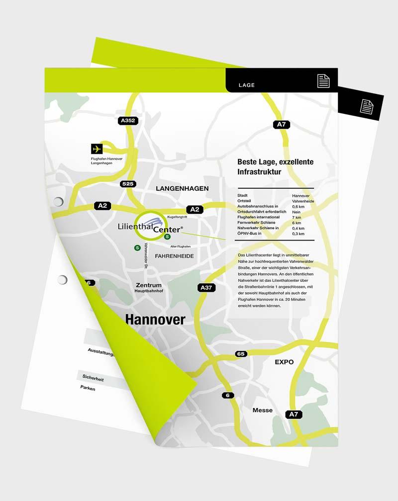 Die Gestaltung von Informationsblättern ist ein eigenständiges Design