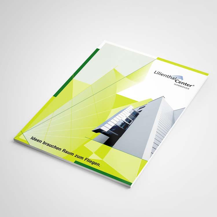 Broschüren Design und Immobilien Branding