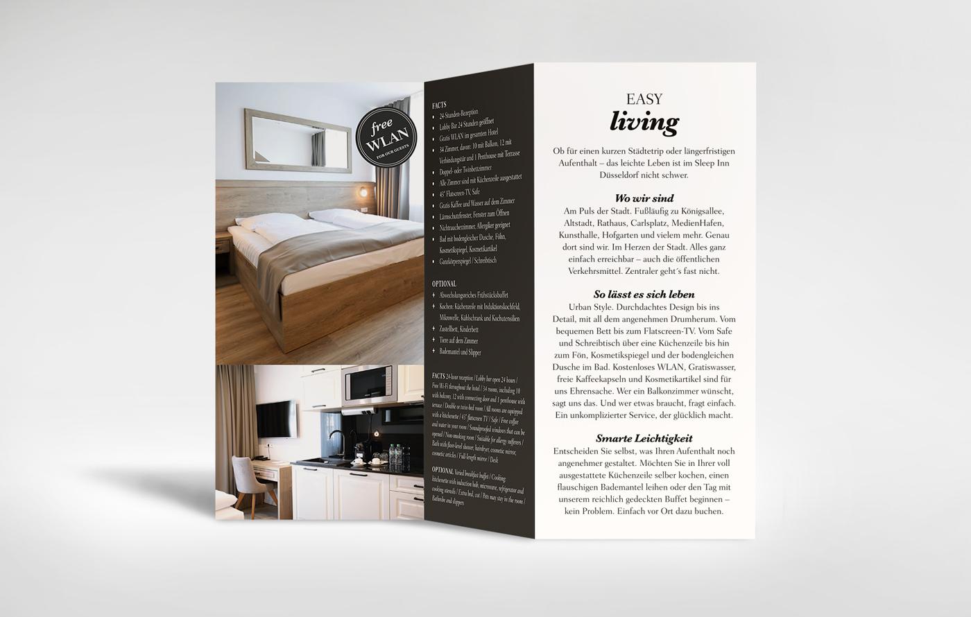 Flyer Design - optisch und textlich ansprechend