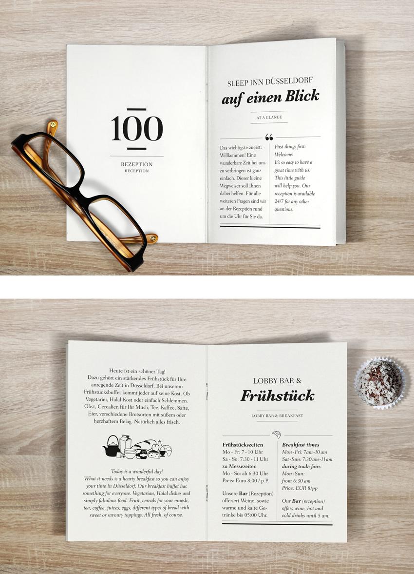 Hennies Markendesign Hotel Broschüre