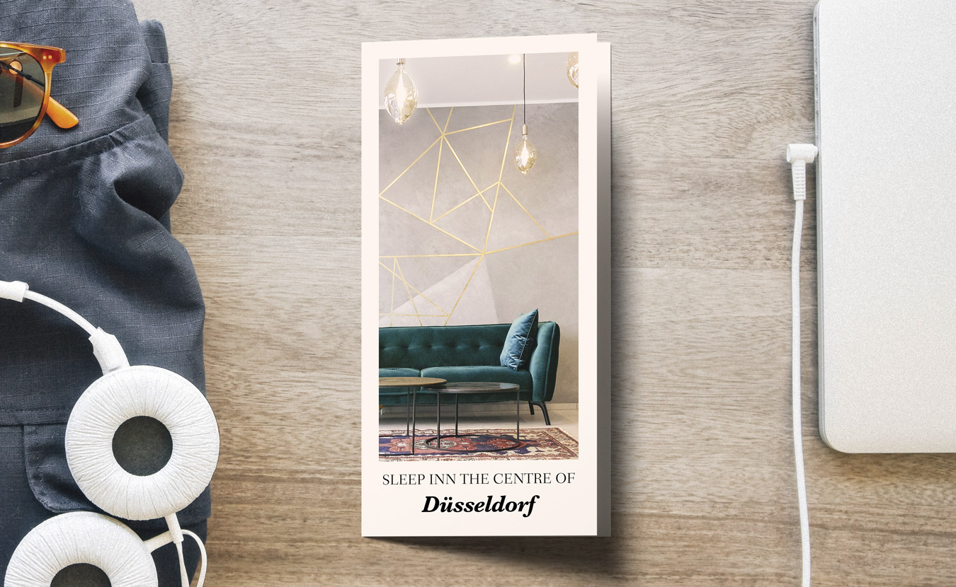 Hochwertig gestaltet- der Flyer ein wirkungsvolles Werbemittel von Hennies Markendesign