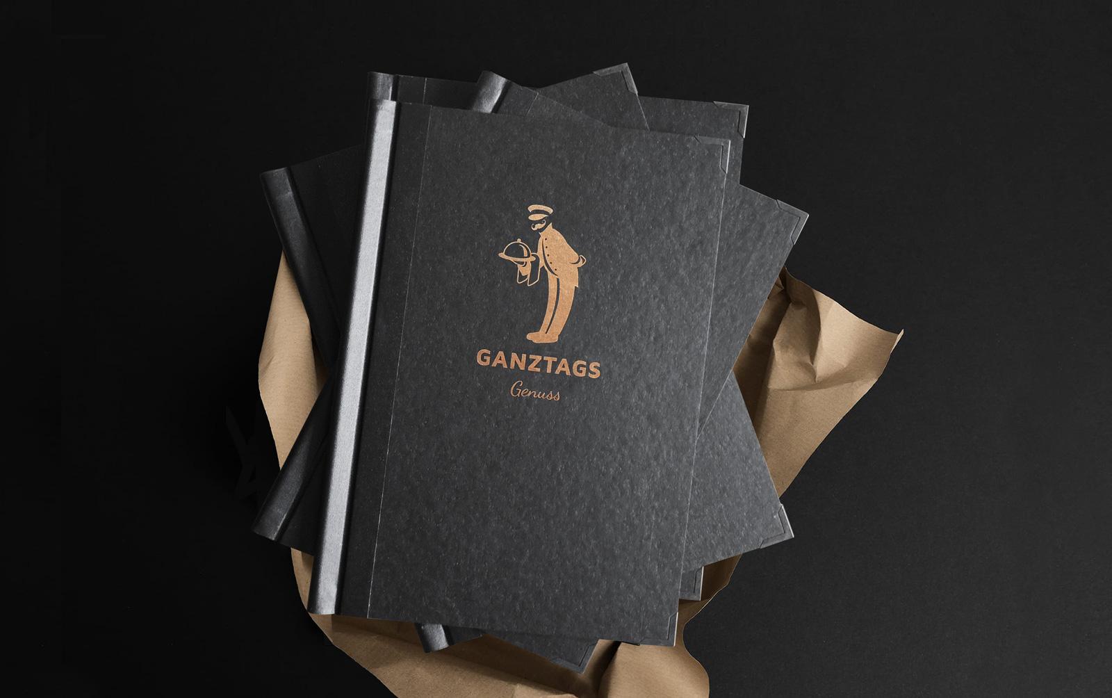 Exklusive Speisekarte und Cover Gestaltung